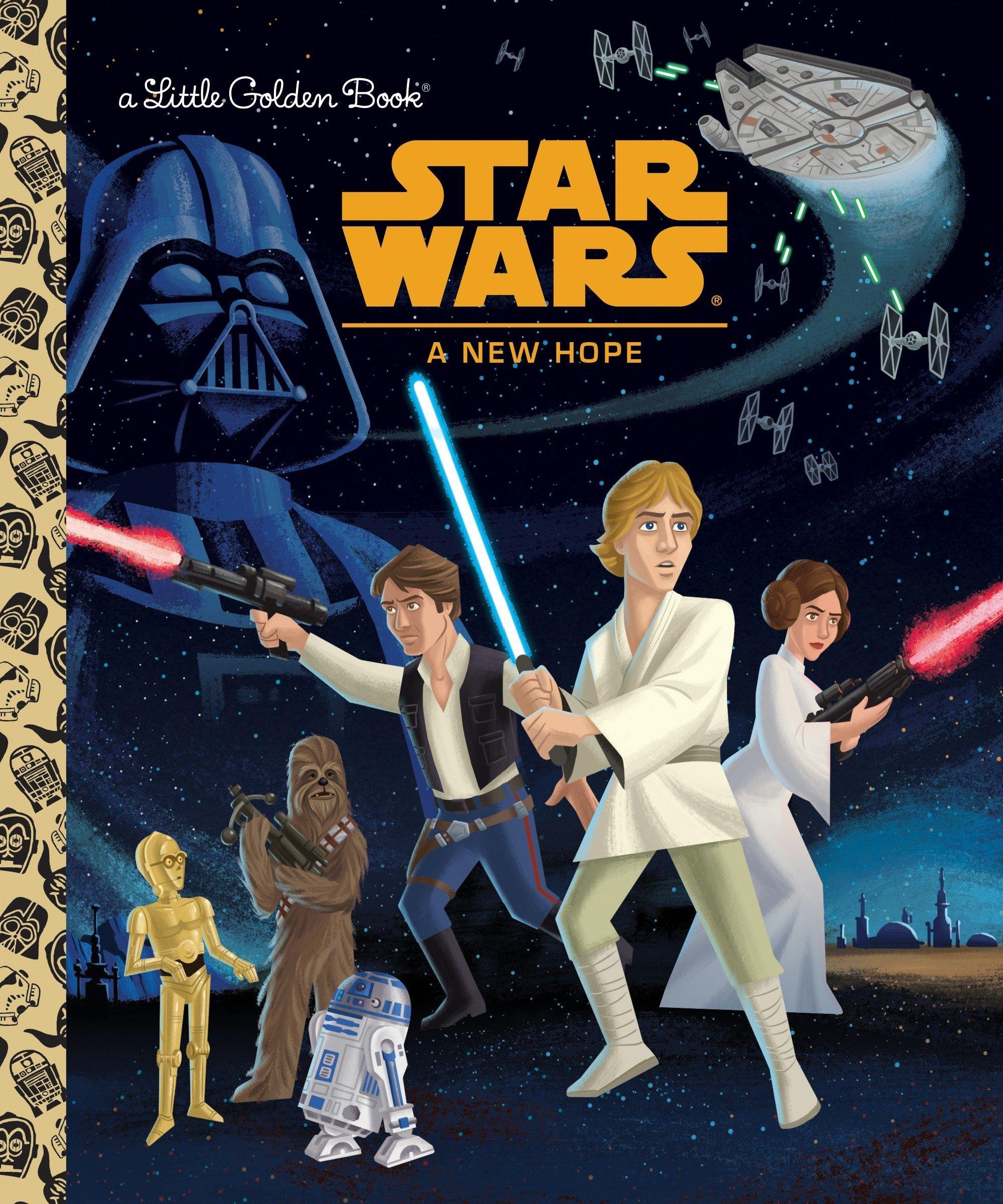 Star Wars: A New Hope (Star Wars) (Little Golden Book): Geof Smith, Caleb  Meurer, Micky Rose: 9780736435383: Amazon.com: Books