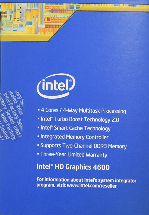 Amazon.com: Intel Core i5-4590 BX80646I54590 Processor (6M Cache, 3.3 GHz) (Certified Refurbished): Computers & Accessories
