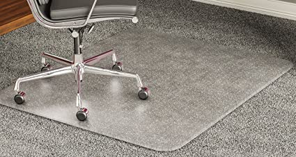 Ordinaire Deflecto CM17743 60 X 60 Clear ExecuMat Intense All Day Use Chair Mat For High  Pile
