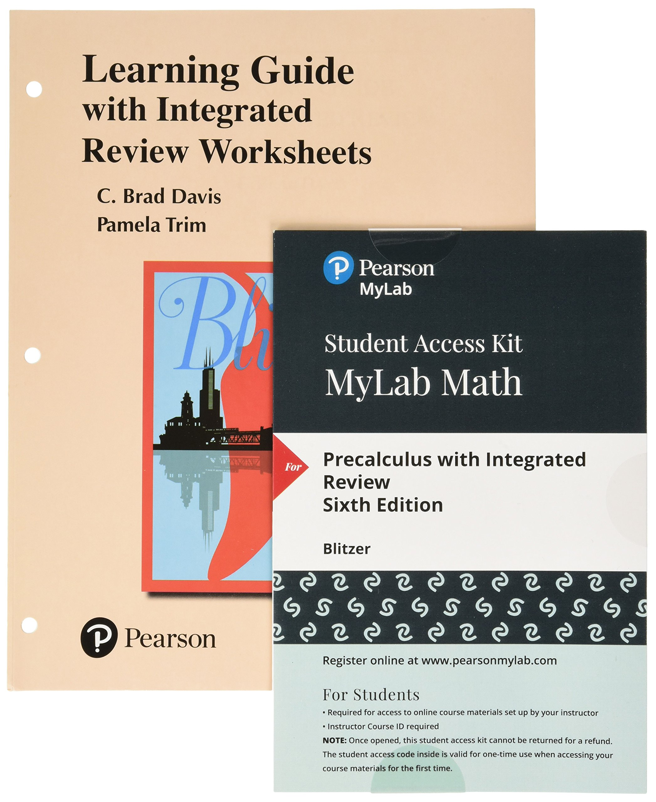 Worksheets Plus Mylab Math Student Access Card for