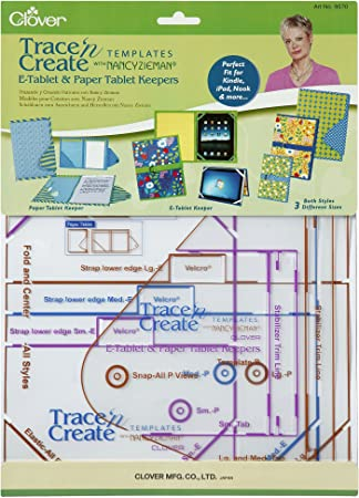 Clover Trace n Create Bag Template Sewing Patterns Town /& Country per p...