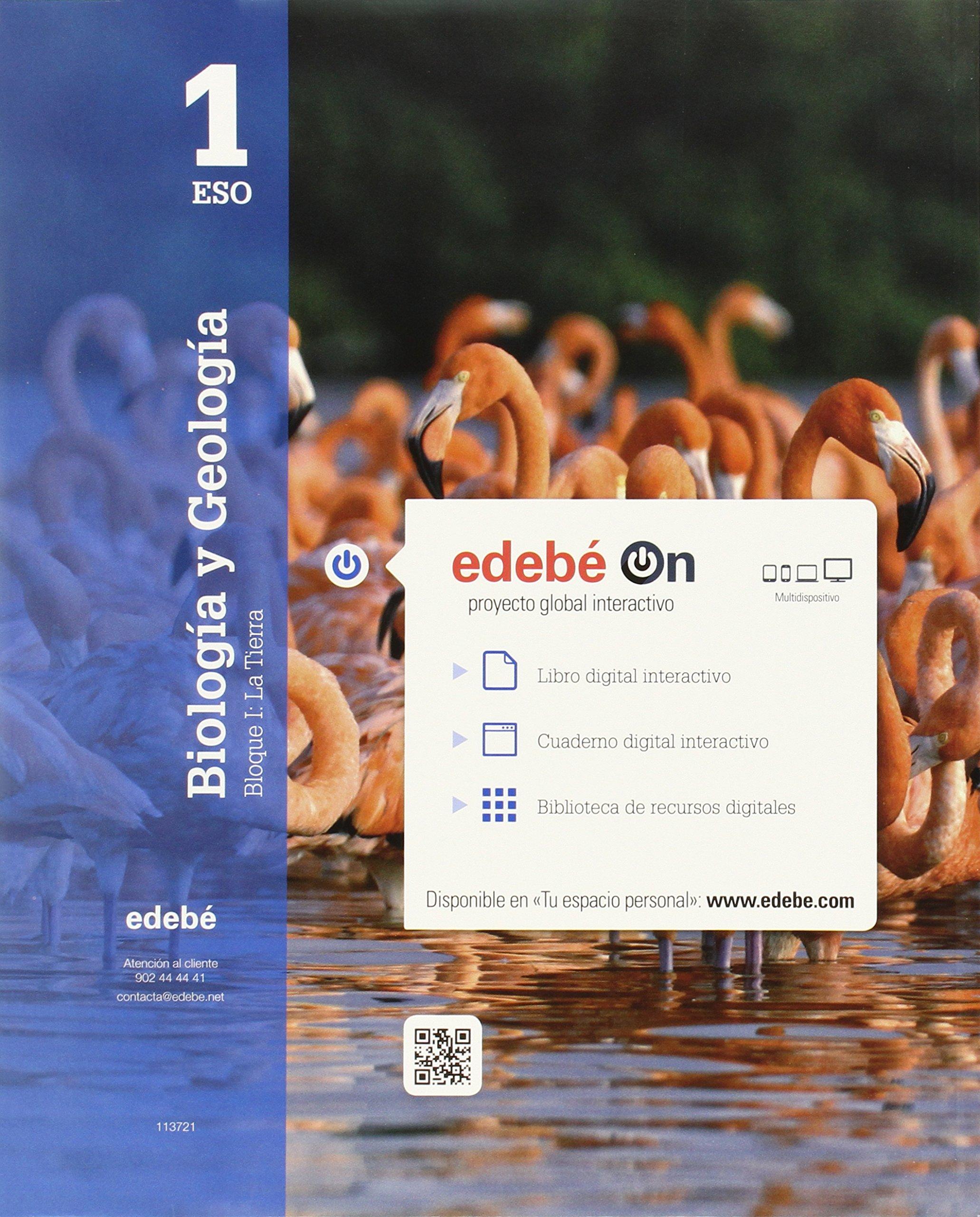 Biología y Geología 1 - 9788468320557: Amazon.es: Edebé, Obra Colectiva: Libros