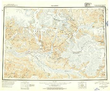 Amazon.com: Alaska Maps | 1951 McCarthy, AK USGS Historical ...