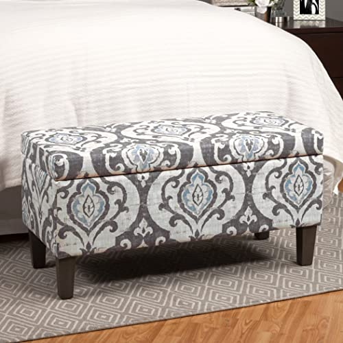 Furniture of Home Storage Ottoman Bench Modern Fabric Decorative Design