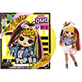 LOL Surprise OMG Remix Pop B.B. Fashion Doll, Plays Music, with Extra Outfit and 25 Surprises Including Shoes, Hair…