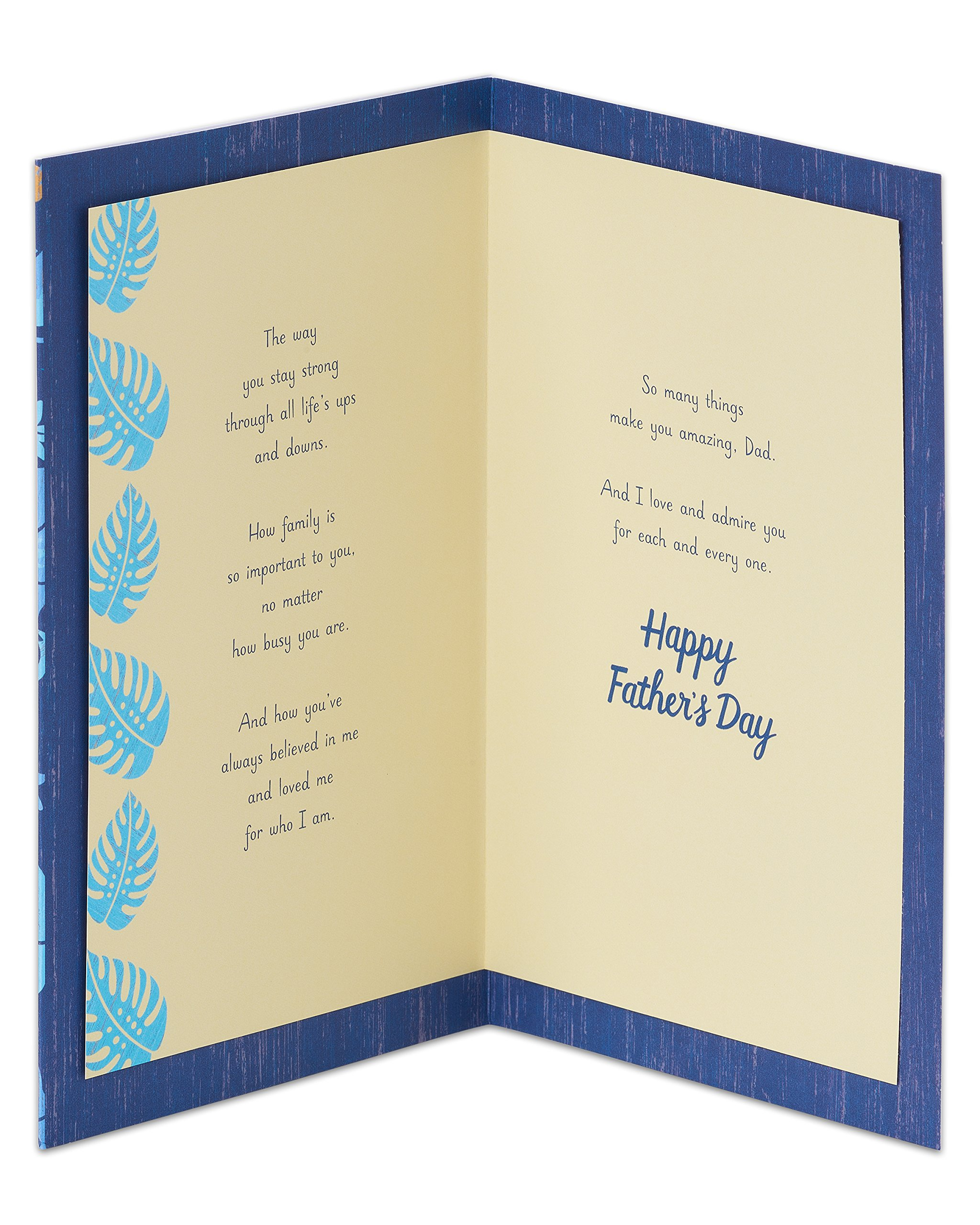 American Greetings Best Dad Fathers Day Card With Attachment