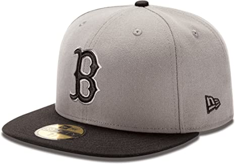 MLB Boston Red Sox 2Tone gris tormenta/negro 59 FIFTY gorra de ...