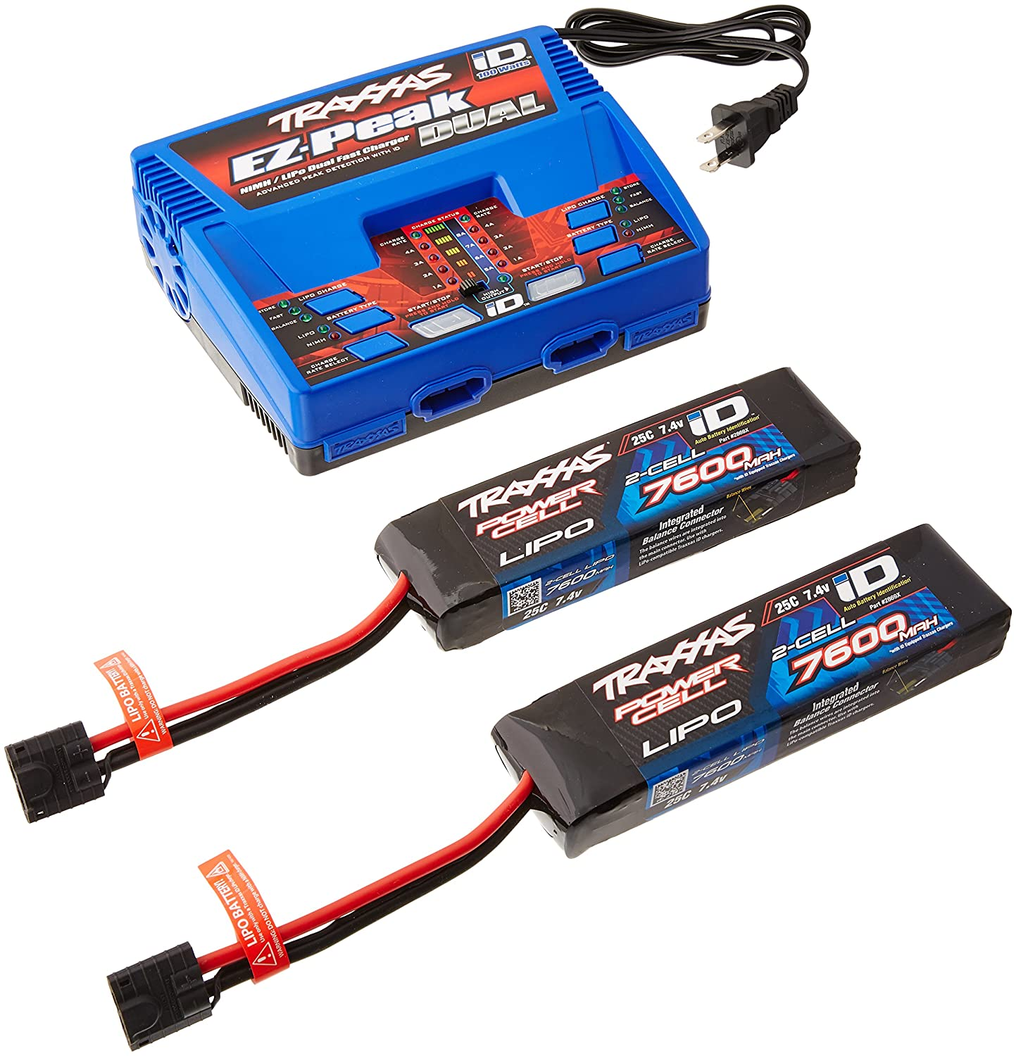 Amazon Traxxas 2991 LiPo Battery and Charger pleter Pack Toys & Games