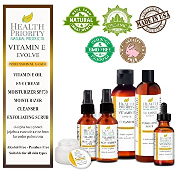 100% Natural Vitamin E Facial Cleanser. Best ever face wash for dry to oily