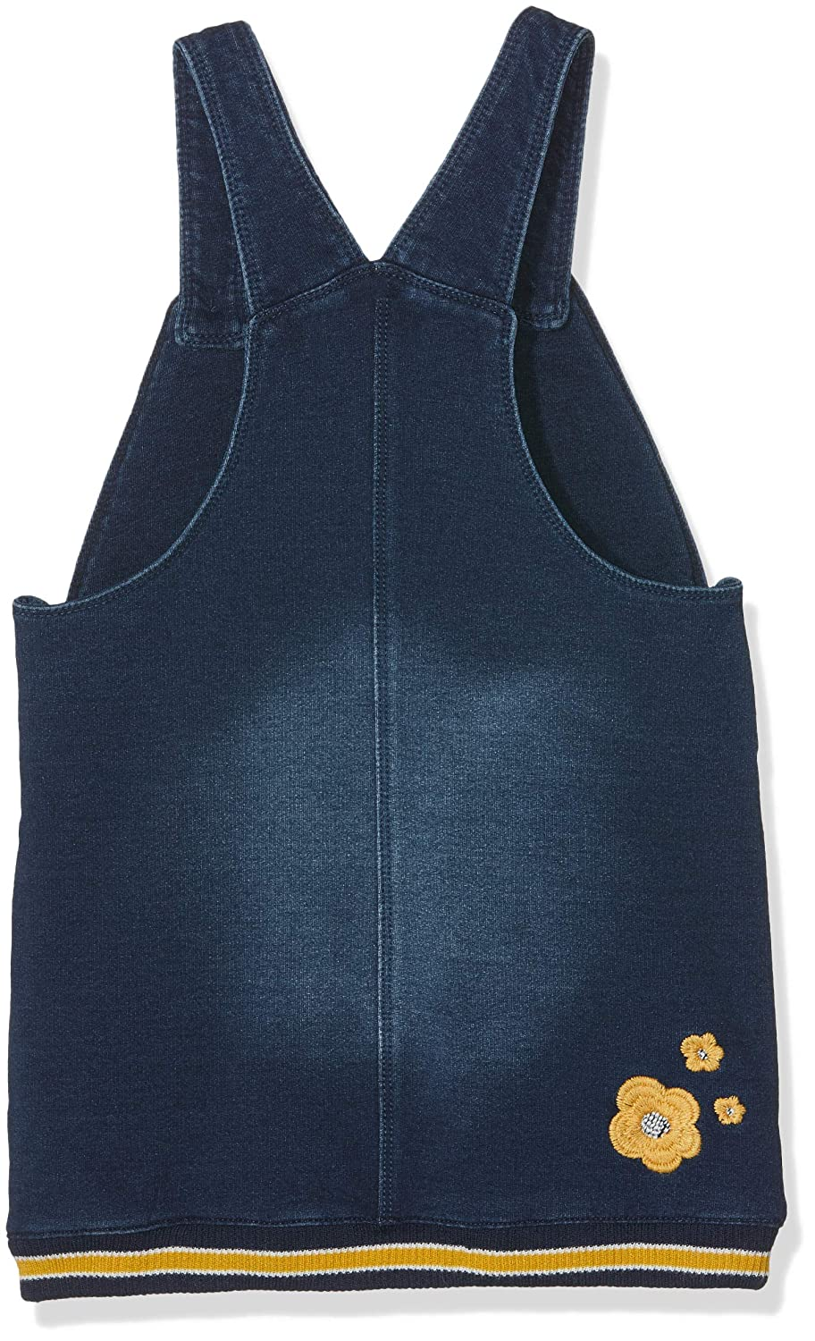 boboli Plush Pinafore Dress Denim For Baby Girl Conjunto de Ropa Unisex beb/é