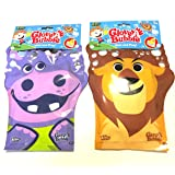 Assorted Character Glove Bubbles 2 Pack