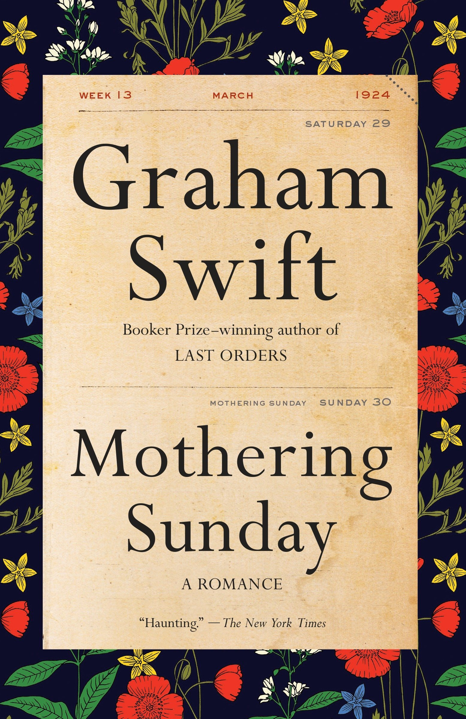 Image result for mothering sunday book