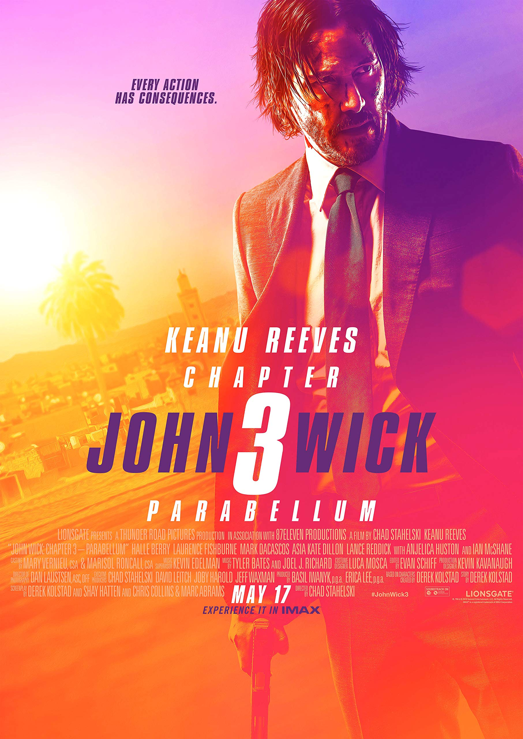 Book Cover: John Wick: Chapter 3 - Parabellum