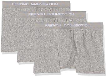 7edc3194b050b French Connection Men s Boxer Shorts Pack of 3  Amazon.co.uk  Clothing