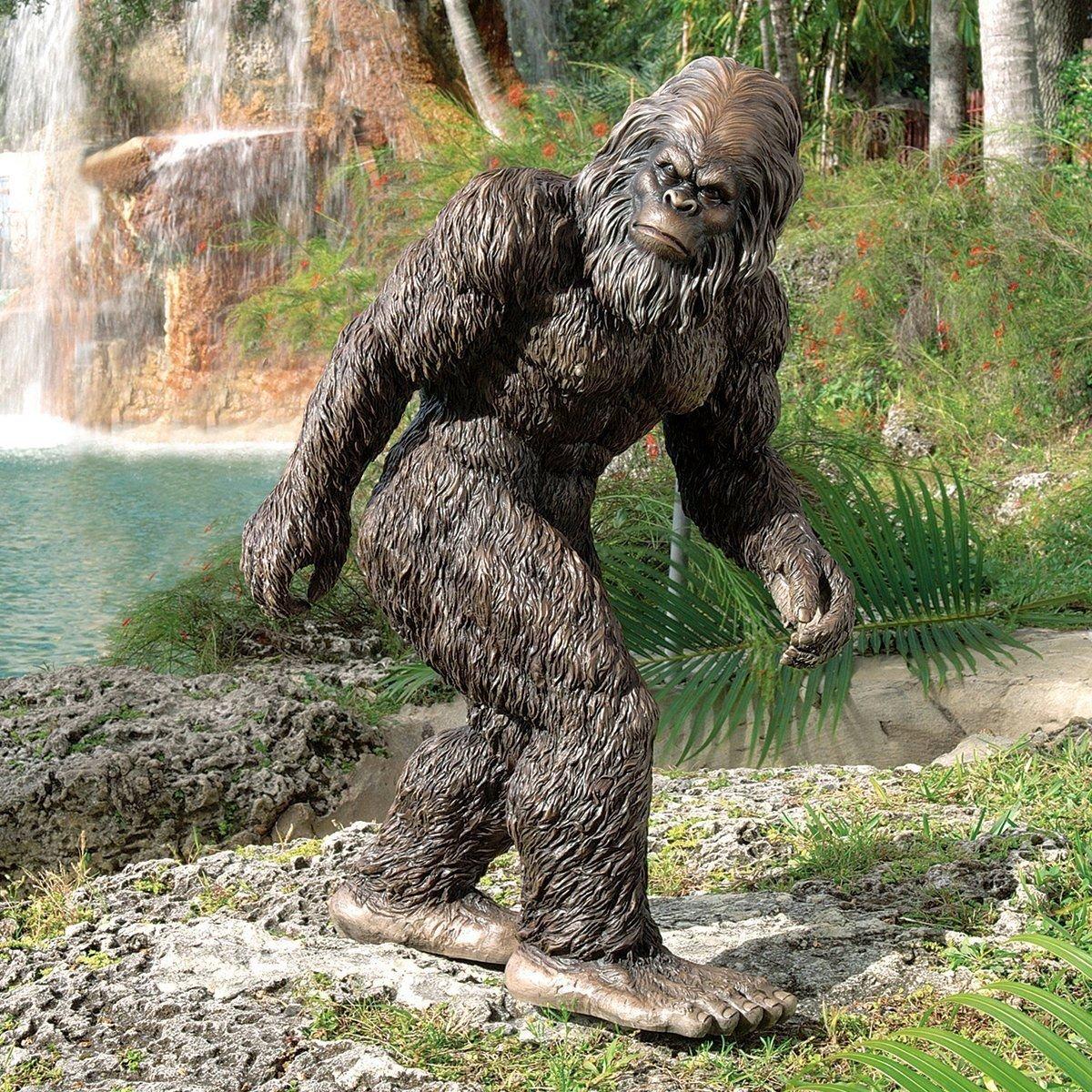 large Hand Painted 28?'' Bigfoot The Garden Yeti Statue decor halloween prop --P#EWT43 65234R3FA526333