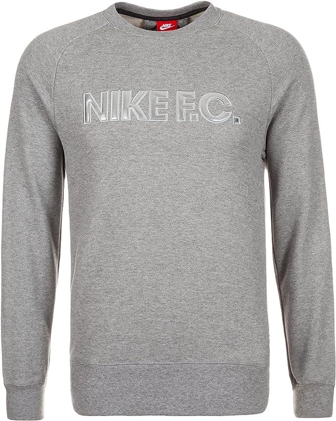 Nike FC City Crew Sweat pour Homme L Gris: : Sports