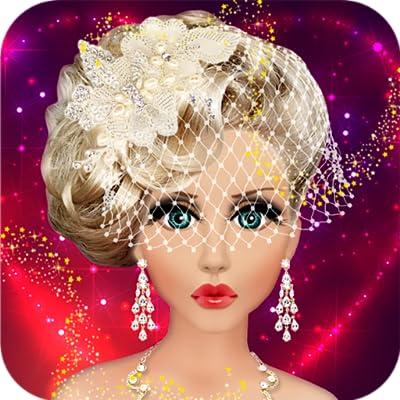 Wedding Bridal Makeup, Hairstyle & Dressing Up Fashion Top Model Princess