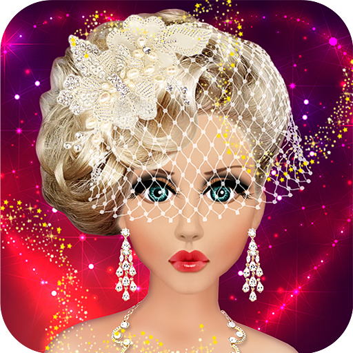 Barbie Doll Wedding Bridal Makeup Hairstyle Dressing Up Fashion - Hairstyle barbie doll