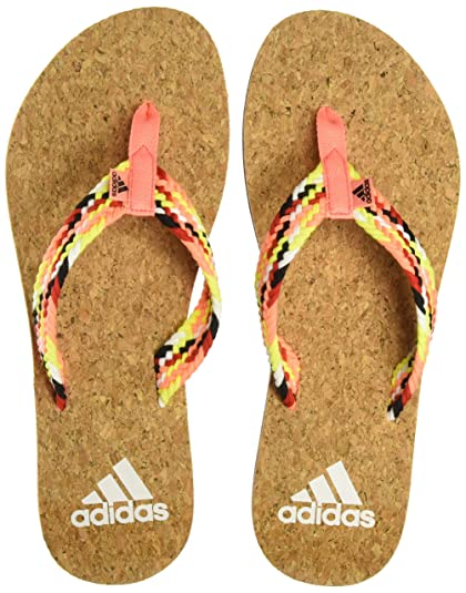bb6b75653b71c Adidas Women s Beach Cork Thong W Ltflor Black White House Slippers - 4  UK India (37 EU) (CI2323)  Buy Online at Low Prices in India - Amazon.in