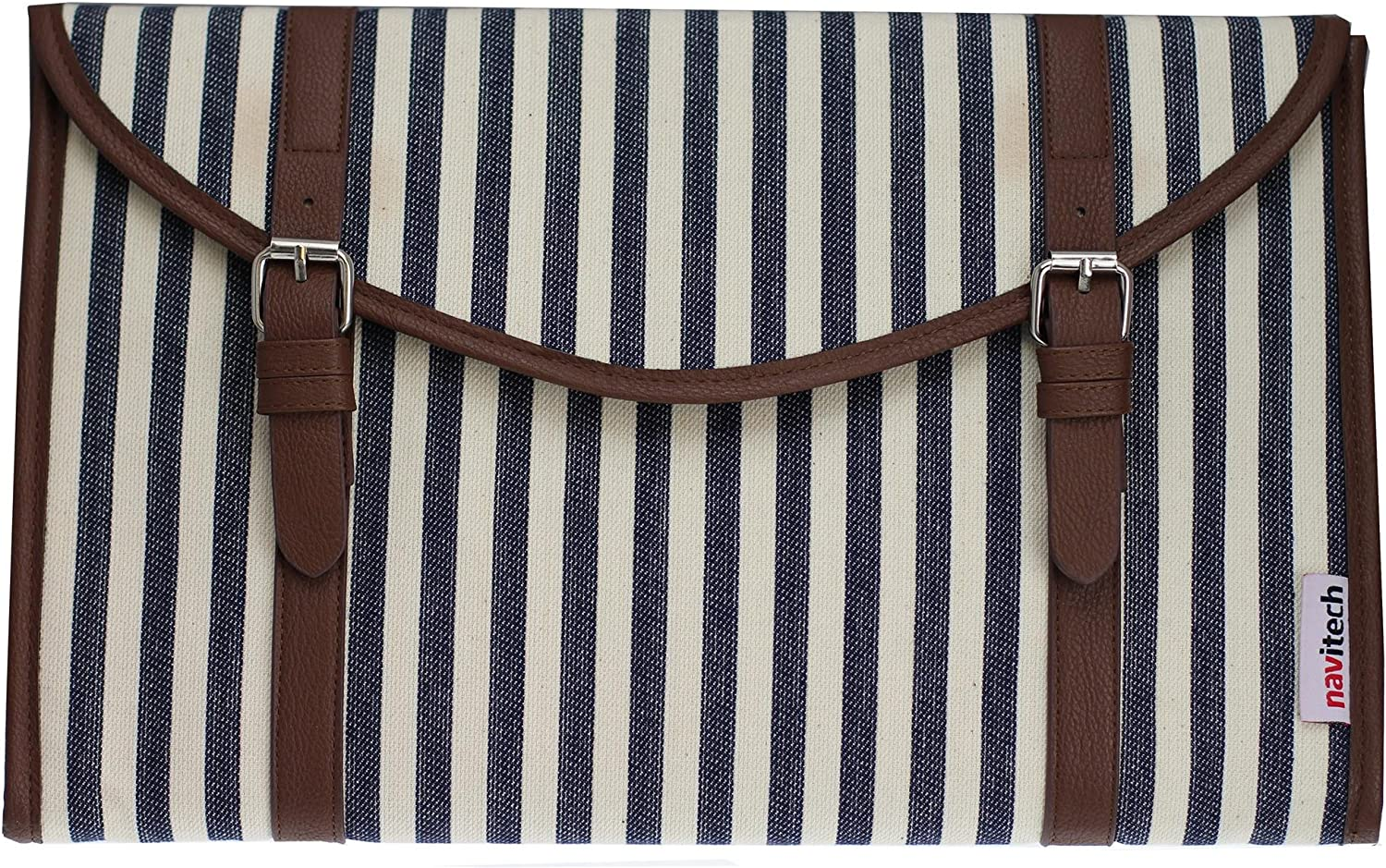 Navitech Canvas Fabric Style Laptop Sleeve Bag Case Cover Compatible with The Acer Travelmate P259 14 inch