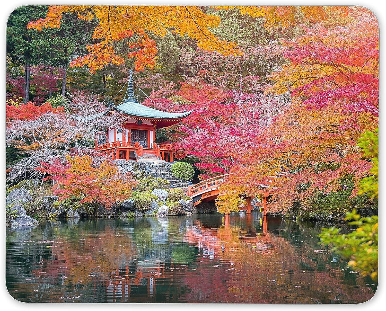 Alfombrilla de ratón para jardín japonés, diseño de Flores de Cerezo japonesas #8830: Amazon.es: Electrónica