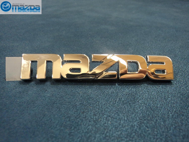 Mazda Genuine NC10-51-711 Maker Name Ornament