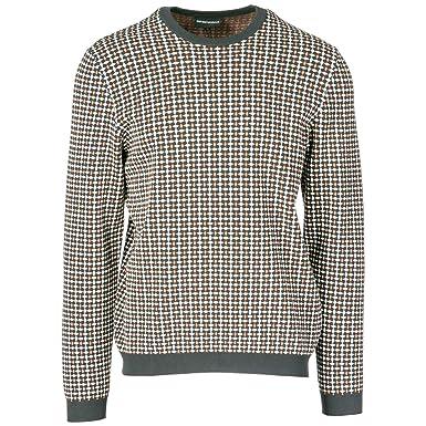 1f38cab0c636 Emporio Armani Pull Homme Grey L  Amazon.fr  Vêtements et accessoires