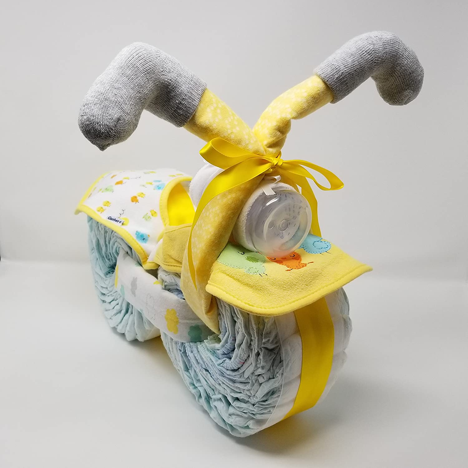 Amazoncom Motorcycle Diaper Cake Baby Shower Diaper Cake