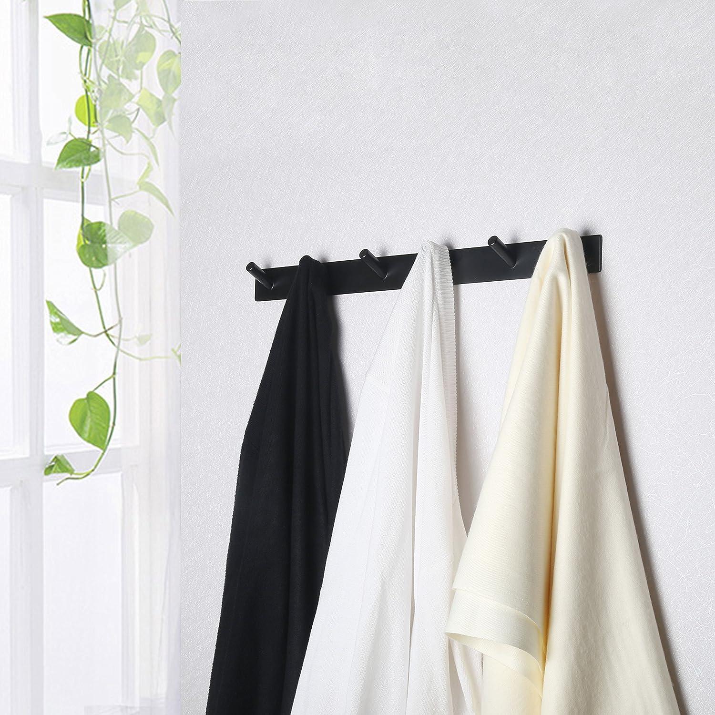 Amazon.com: WEBI Perchero de metal resistente para toallas ...