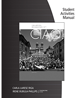 Ciao world languages kindle edition by carla larese riga student activity manual for rigaphillips ciao fandeluxe Image collections