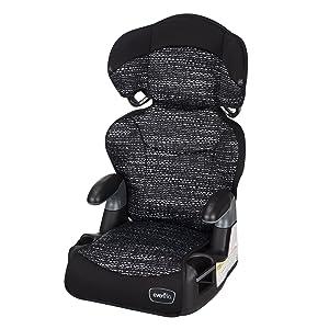 Evenflo Big Kid AMP High Back Booster Car Seat