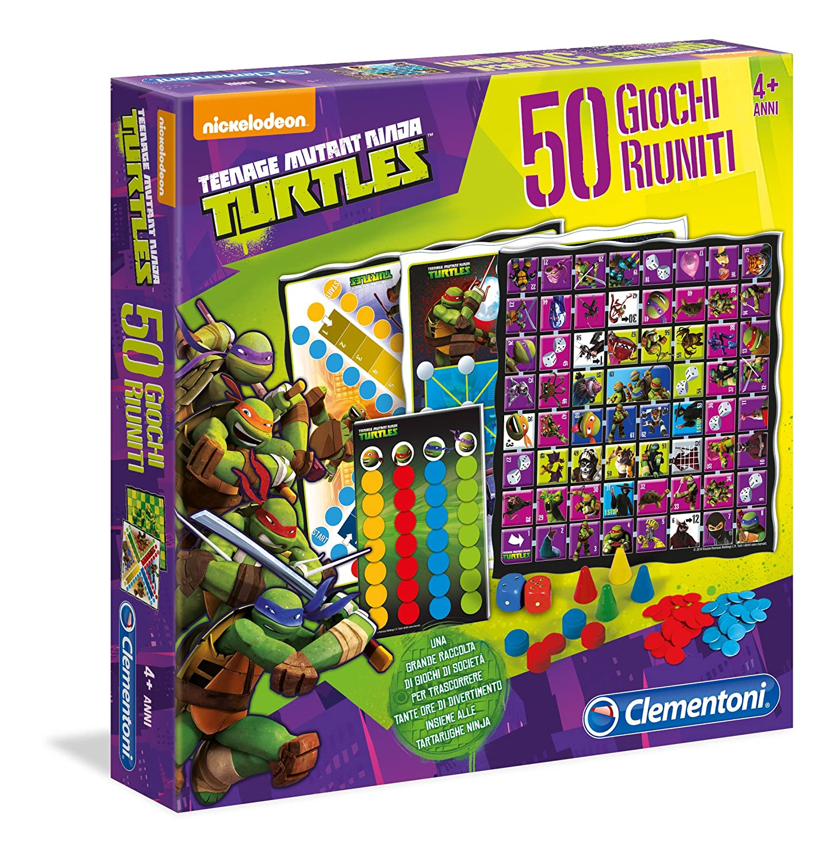 TOYLAND Clementoni 12039 - Tortugas Ninja Game Company, 50 Juegos ...
