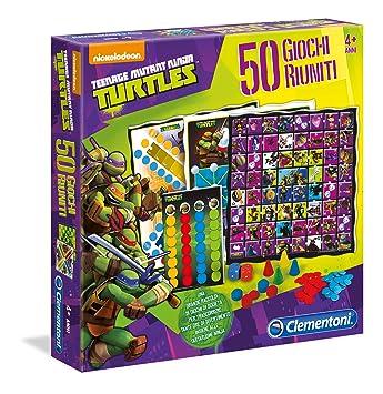TOYLAND Clementoni 12039 - Tortugas Ninja Game Company, 50 ...