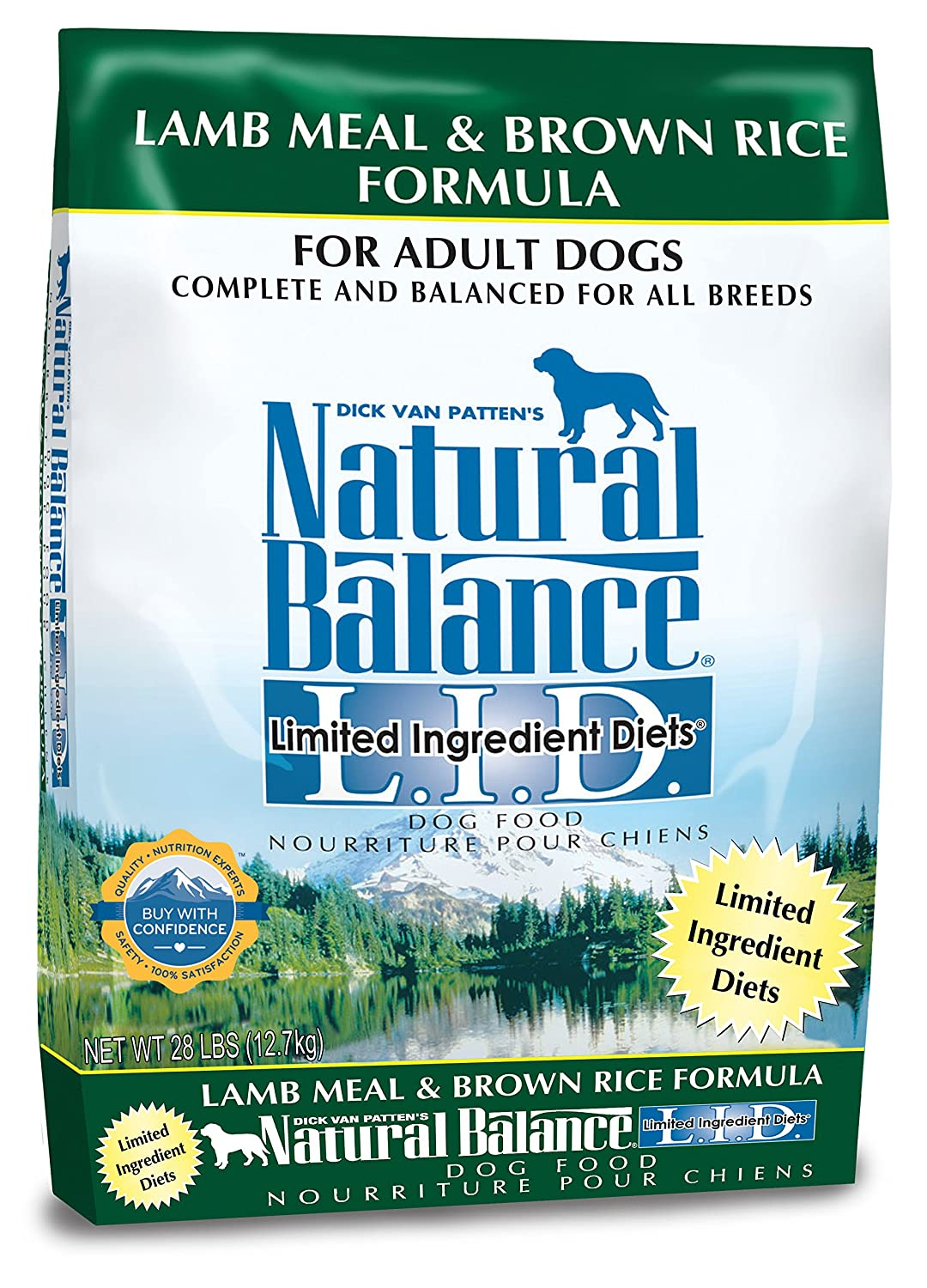Natural Balance Limited Ingredient Diets Lamb Meal and Brown Rice Adult Dry Dog Food