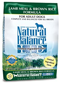 1. Natural Balance Limited Ingredient Diets Dry Dog Food - Lamb Meal & Brown Rice