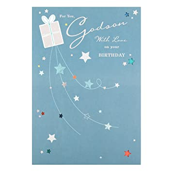 Image Unavailable Not Available For Color Hallmark Godson Birthday Card