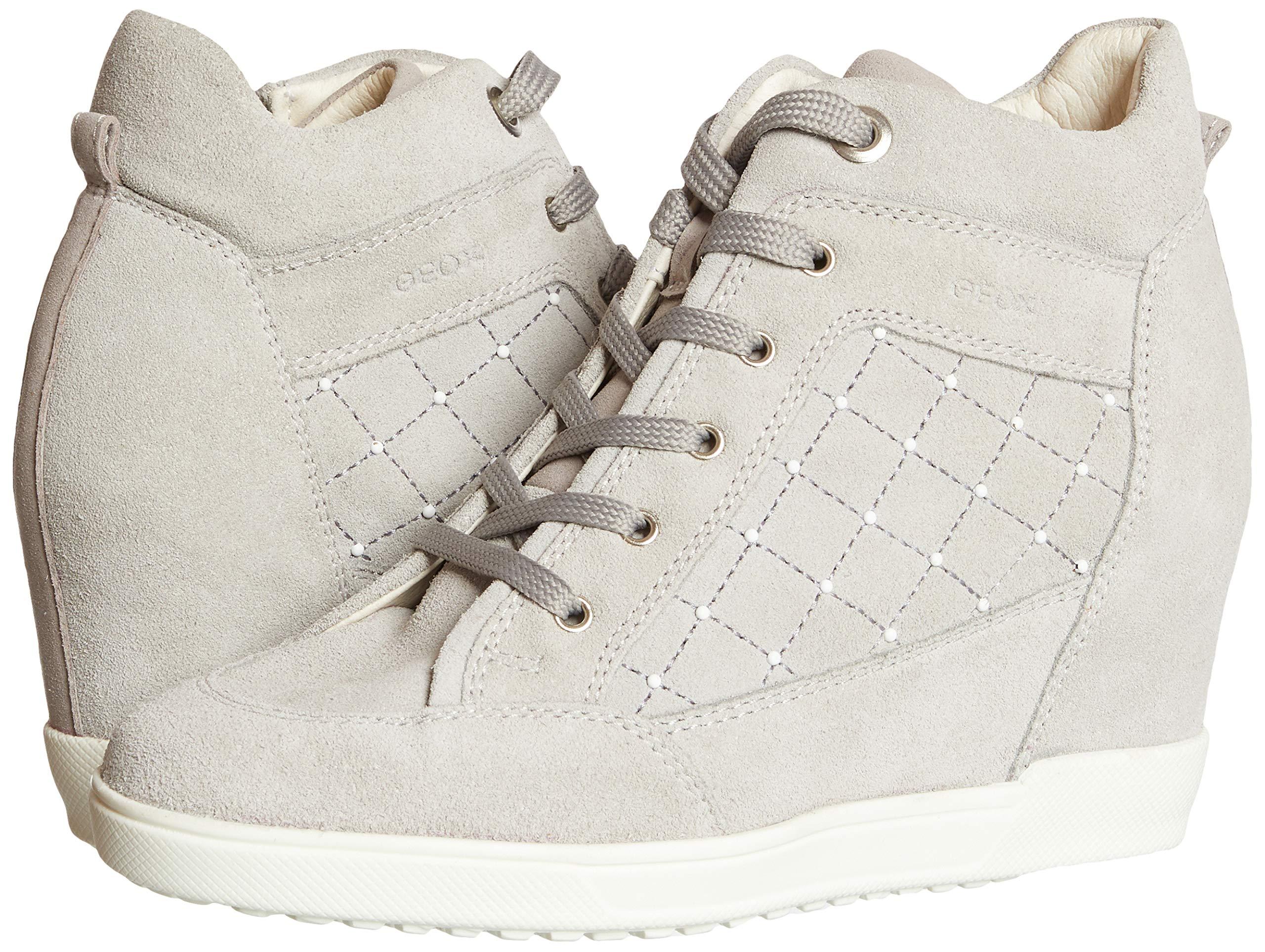 Desanimarse Práctico Desmantelar  Geox Women's D Carum C Hi-Top Sneakers- Buy Online in Albania at  albania.desertcart.com. ProductId : 119561553.