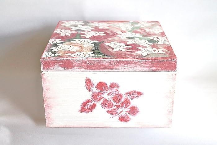Keepsake Box Decoupage Storage Jewelry Home Decor