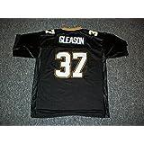 Steve Gleason Unsigned Custom Sewn New Orleans Black New Football Jersey  Size S 7fd6cc9b2
