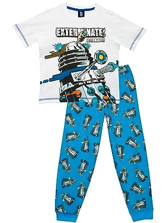 bb9f13a9a4 DOCTOR WHO Boys Pyjamas Dalek Age 12 To 13 Years  Amazon.co.uk  Clothing