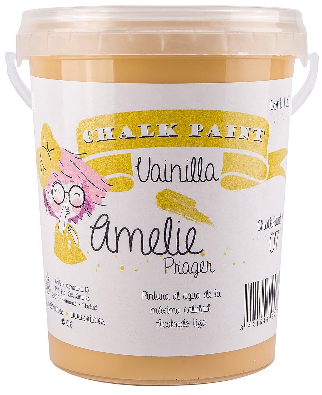 Amelie Prager 1000–07peinture à la craie, vanille, 1l 1l Orita 1000-07
