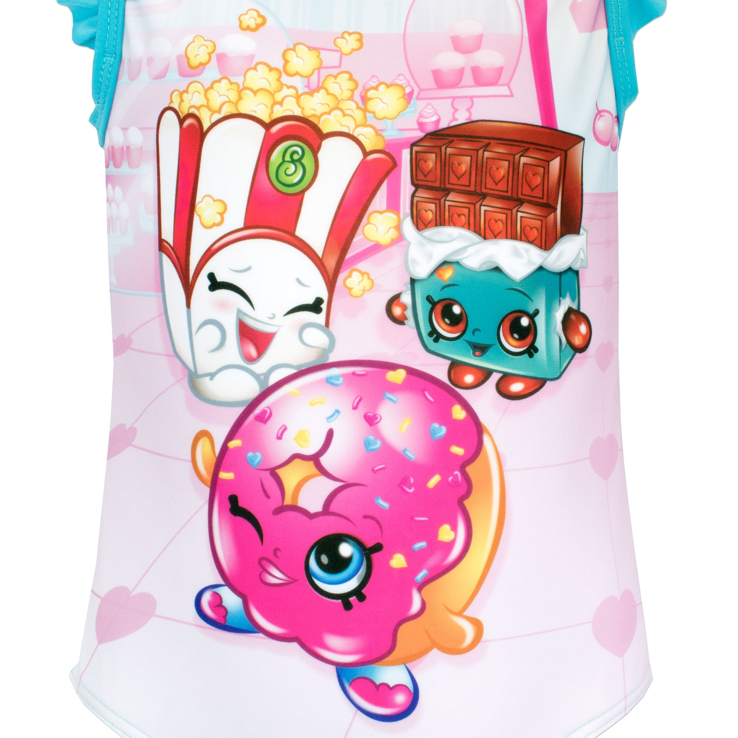 Shopkins Girls Donna Donut & Cheeky Chocolate Swimsuit Size 7 by Shopkins (Image #2)