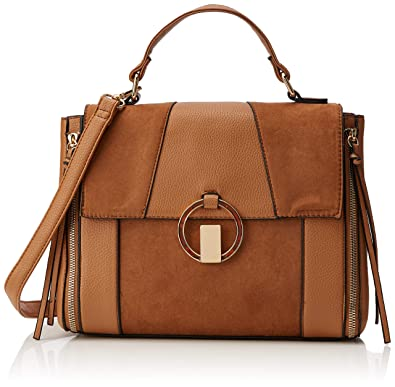 release date new lifestyle super quality New Look Womens Walter Satchel Beige (Tan)