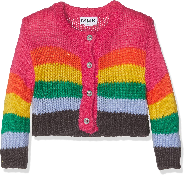 Mek Cardigan Tricot Riga Multicolor Bimba