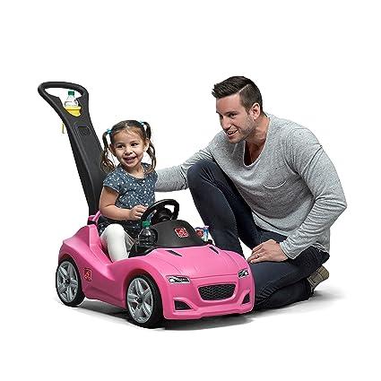 06bcb188f23 Amazon.com: Step2 Whisper Ride Cruiser Push Car, Pink: Toys & Games