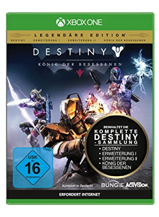858c59dc2b4 Destiny - König der Besessenen (Legendäre Edition) (USK ab 16 Jahre) XBOX  ONE  Amazon.co.uk  PC   Video Games