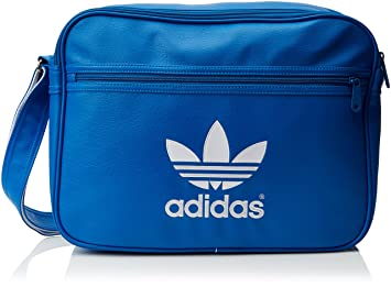 8b5a1faad0 adidas Airliner Sac à bandoulière Bluebird/White: Amazon.fr: Sports ...