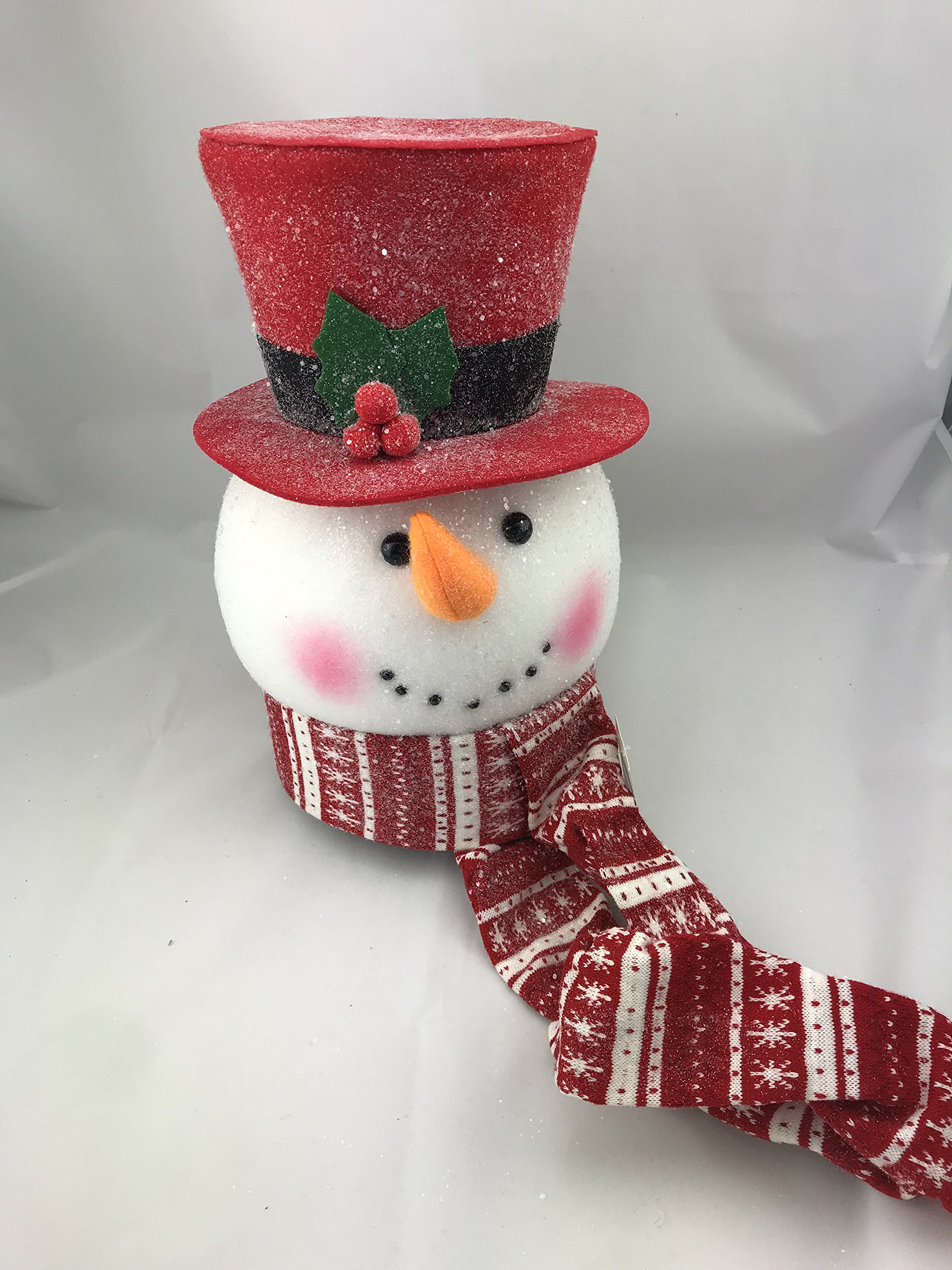 Snowman Heads Tree Topper