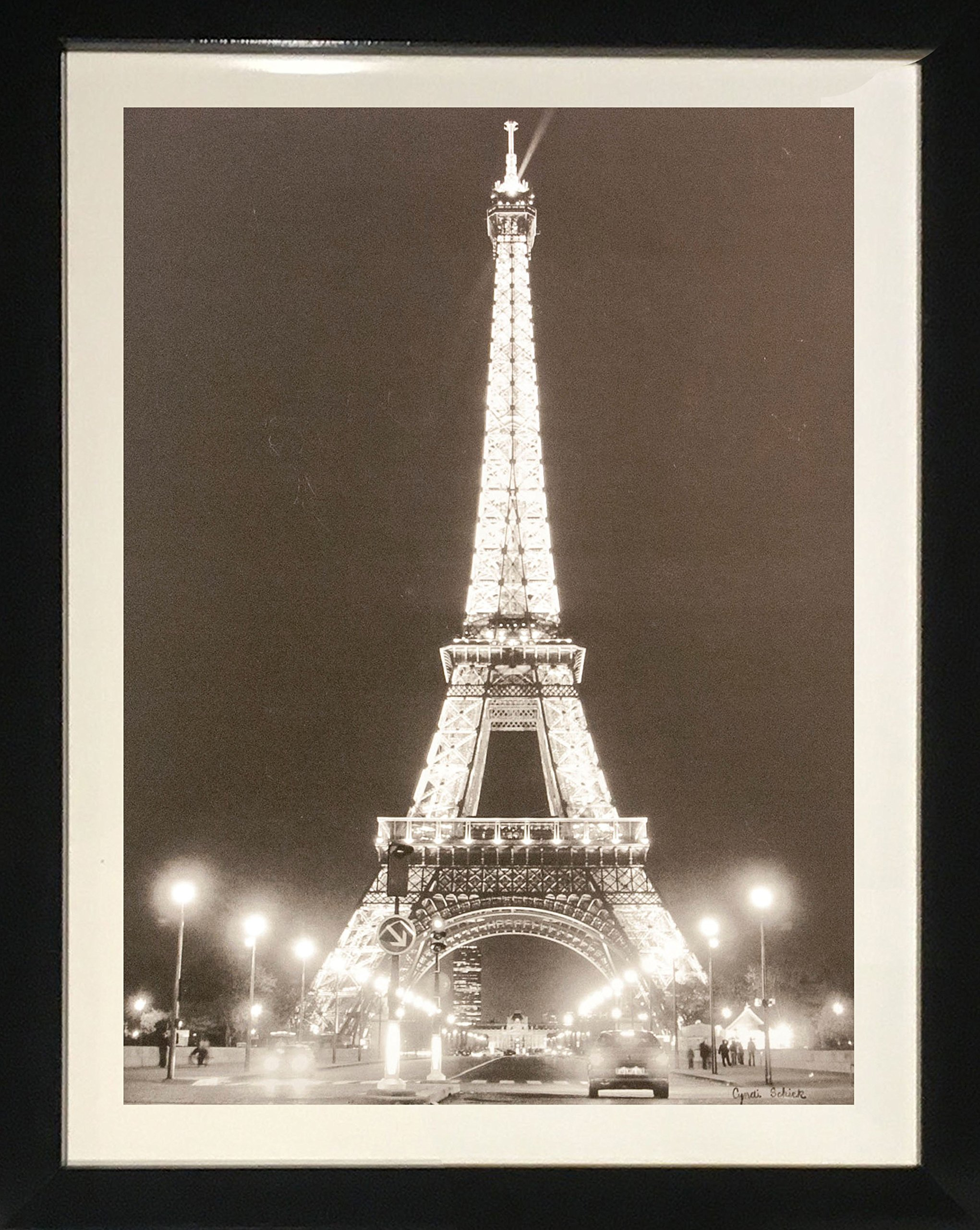Eiffel Tower at Night by