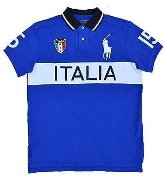 Polo Ralph Lauren - Camiseta - para hombre Azul azul 2XL: Amazon ...
